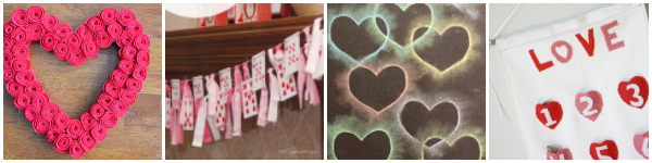 Valentine decorations for kids to make