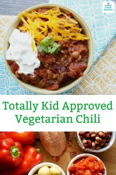 vegetarian chili family favourite