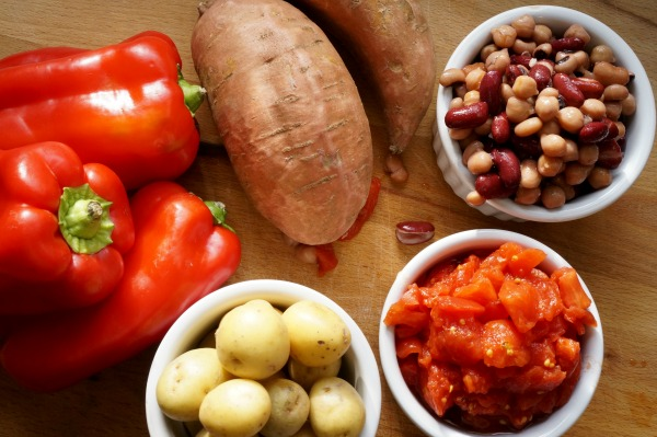 meatless chili recipe ingredients