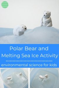 polar bear activity for kids melting sea ice activity for kids bears on top of ice