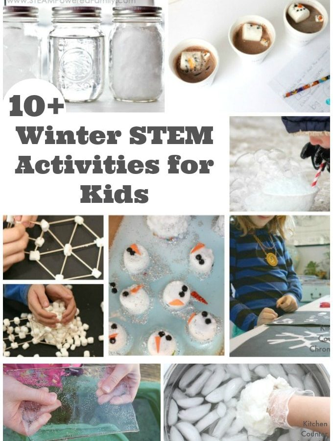 10+ Winter Stem Activities for Kids