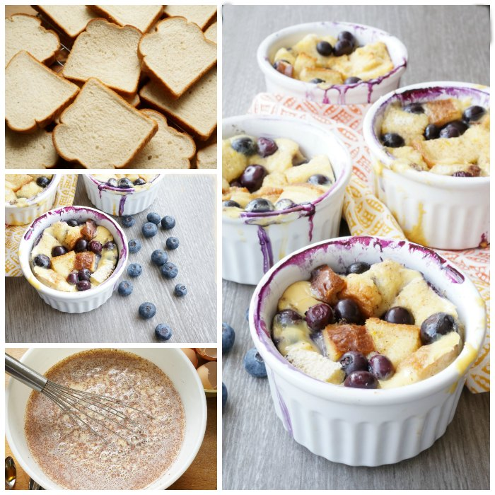 Blueberry Bread Pudding social