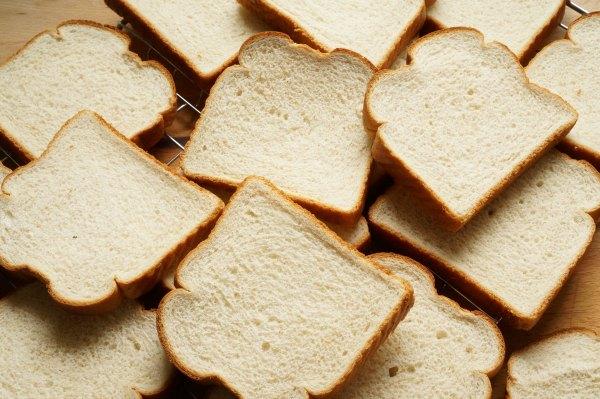 honey wheat bread on rack