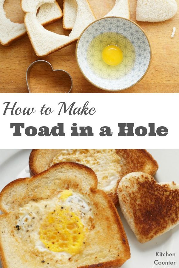 How to Make a Toad in a Hole