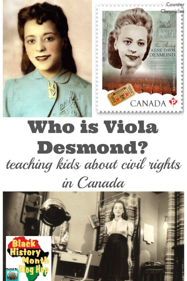 Who is Viola Desmond? Teaching Kids About Civil Rights in Canada
