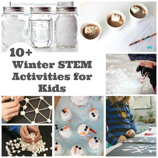 10 Winter Stem Activities For Kids