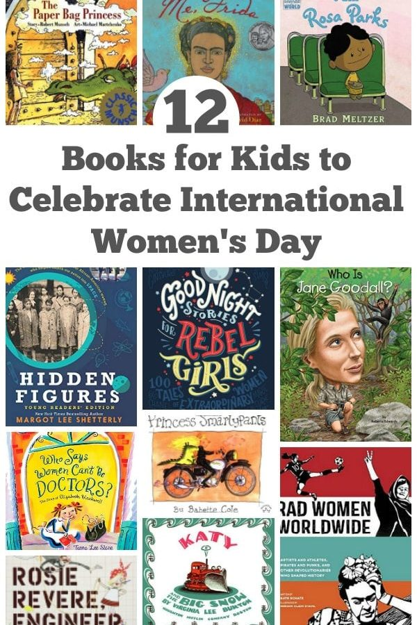 12 books for kids to celebrate international women's day