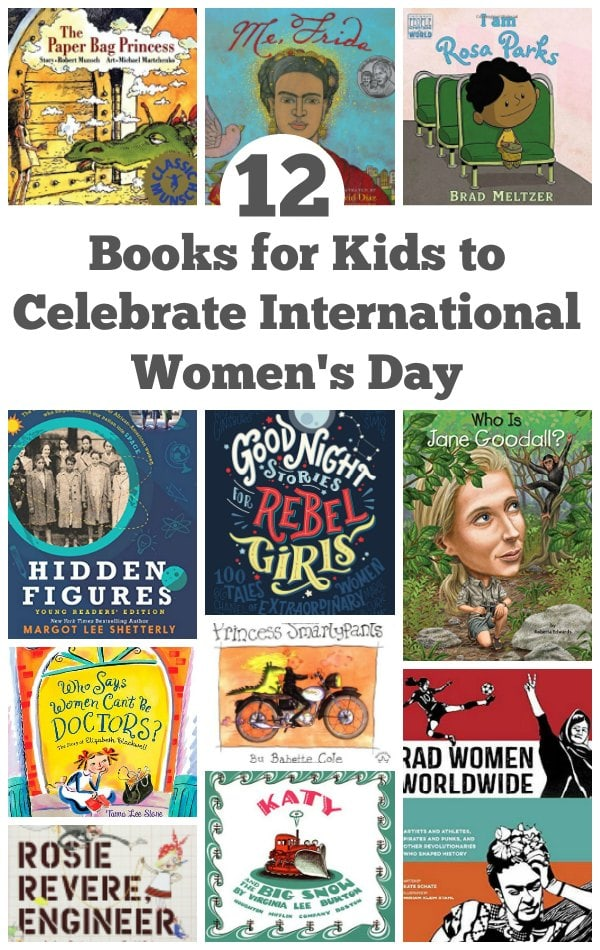 12 books for kids to celebrate international women's day - An awesome book list to introduce your kids to the stories of independent, rebellious, stereotype smashing women. | Women's Rights |