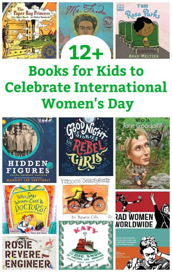 books for kids to celebrate international women's day