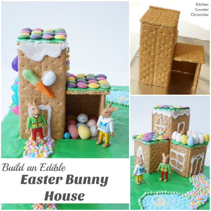 Build an Easter Bunny House - social
