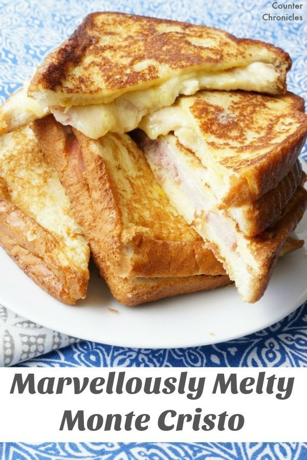 Marvellously Melty Monte Cristo Sandwich