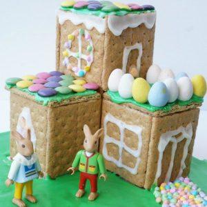 Easter Bunny House social