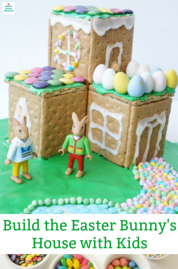 build the easter bunny's house
