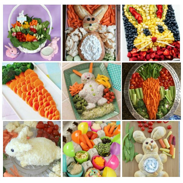 Fun Easter Veggie Tray And Easter Fruit Tray Ideas