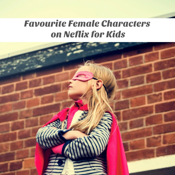 Favourite female characters for kids