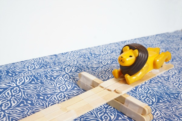 lion on lever lift