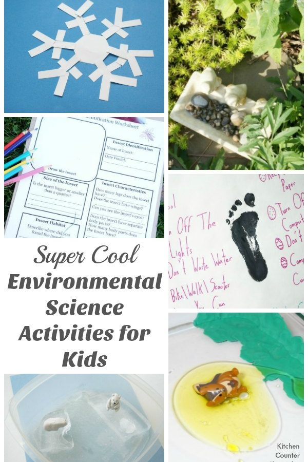 Super Cool Environmental Environmental Science Activities for Kids