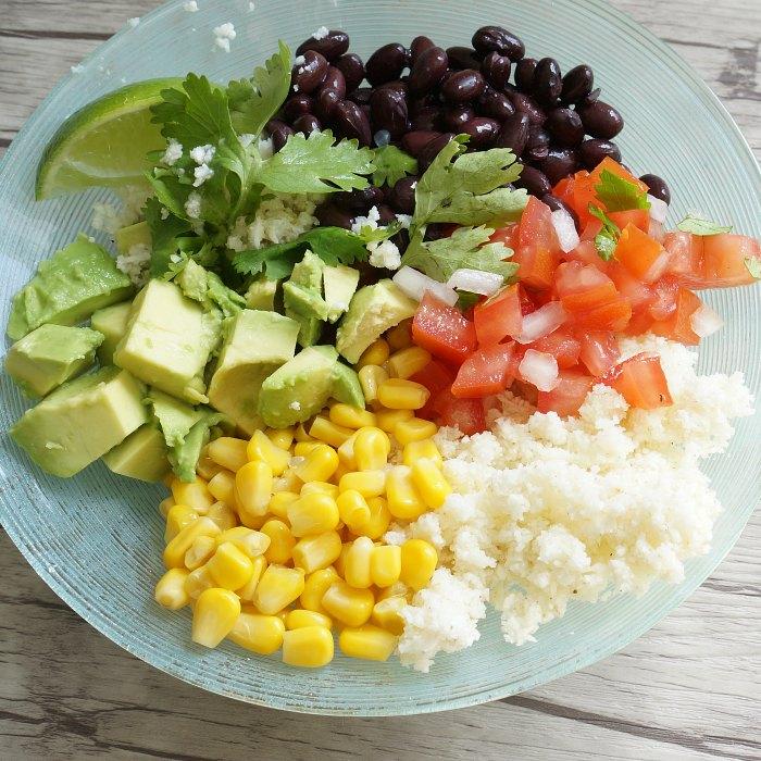 Healthy Burrito Bowl square