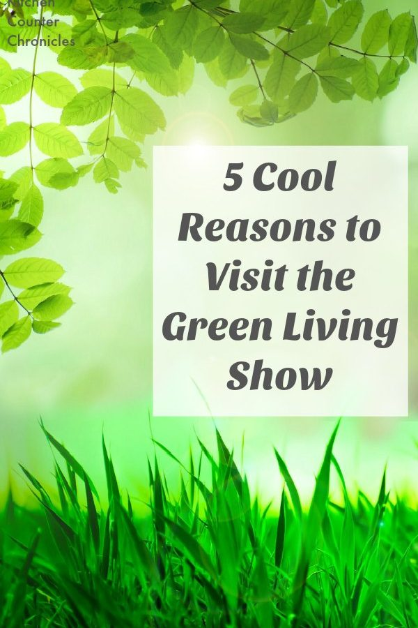 5 Cool Reasons to Visit the Green Living Show - Head to the Green Living Show in Toronto to learn about all the amazing eco-friendly innovations being made in Canada. Family friendly event. | Eco-Living | Green Living Family |