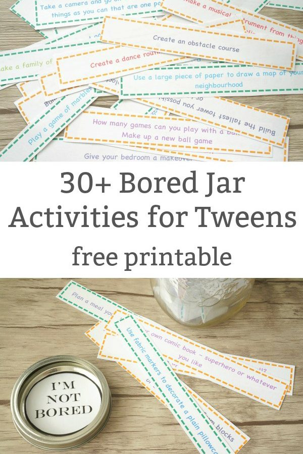 bored jar activities for tweens new featured