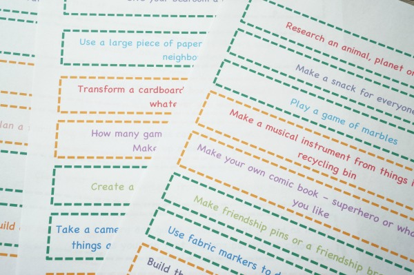 I'm Bored Activities for Tweens Printed
