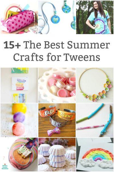 best summer crafts for tweens