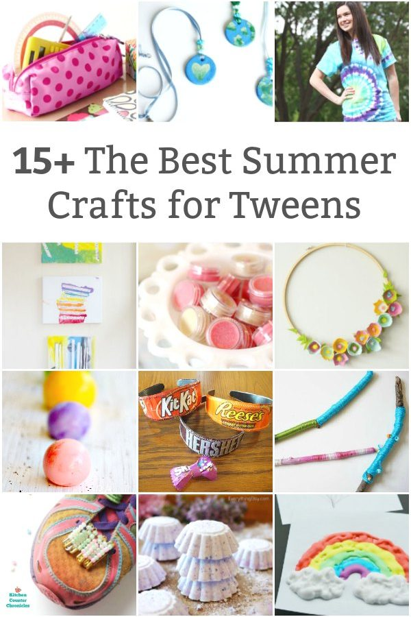 best summer crafts for tweens