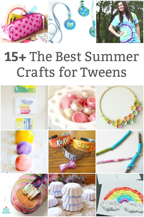 The Best Summer Crafts For Tweens Totally Tween Approved