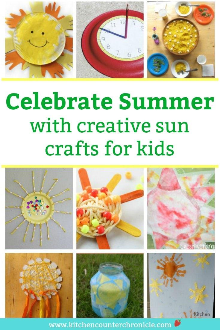 summer solstice crafts for kids