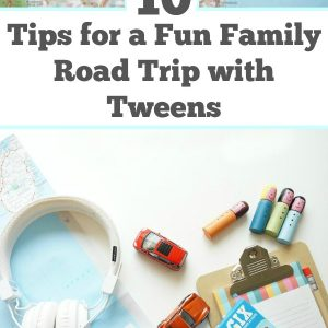 10 Tips for a fun family road trip with tweens - Going on a road trip with tweens can be a challenge. Tips for balancing technology with simple activities. Tips for getting kids about road tripping. | Tween Activities | Parenting a Tween | Road Trip Tips |