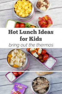 Hot Lunch Ideas for Kids - How to Use a Thermos - Use the lunch box secret weapon, a thermos. Kids love all of these warm food ideas.   Back to School   Recipes for Kids   Family Friendly Food   Hot Lunch Recipes  