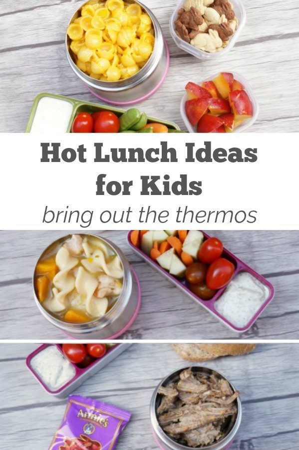 Kid Approved Hot Lunch Ideas – Bring On the Thermos