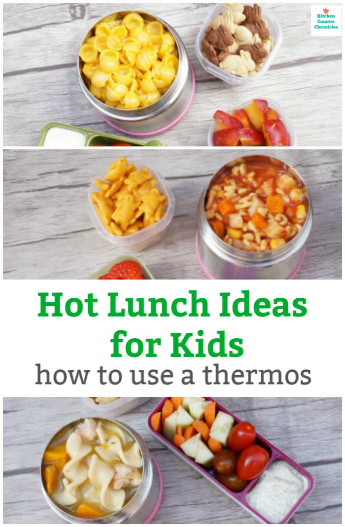 hot lunch ideas for kids how to use a thermos