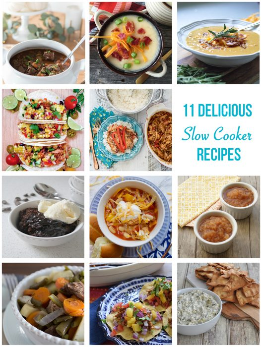 11 Delicious Slow Cooker Recipes to make