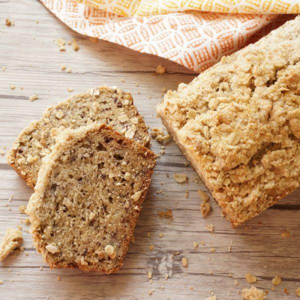 oatmeal banana bread social