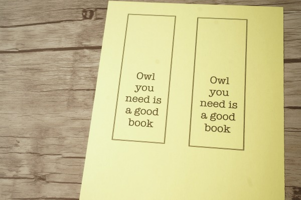 owl bookmark blank copy