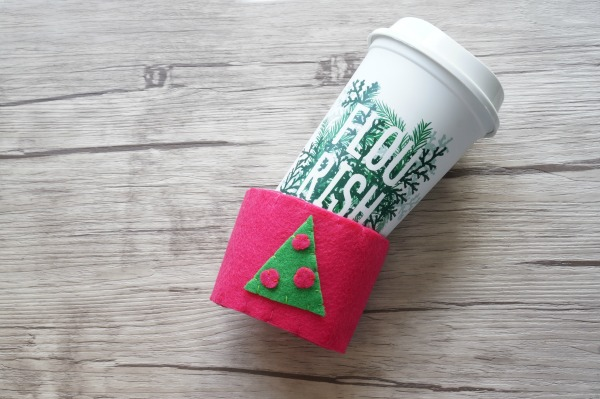 coffee cup cozy going on cup