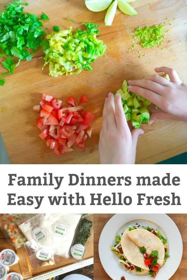 Family Dinners Made Easy with Hello Fresh #HelloFreshLife