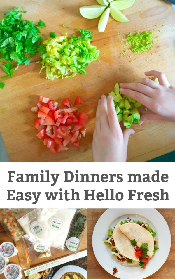 Family Dinners Made Easy with Hello Fresh