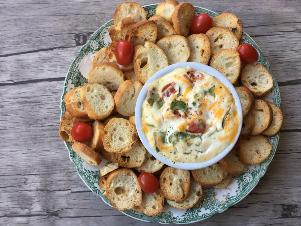 Hot BLT Dip in bowl