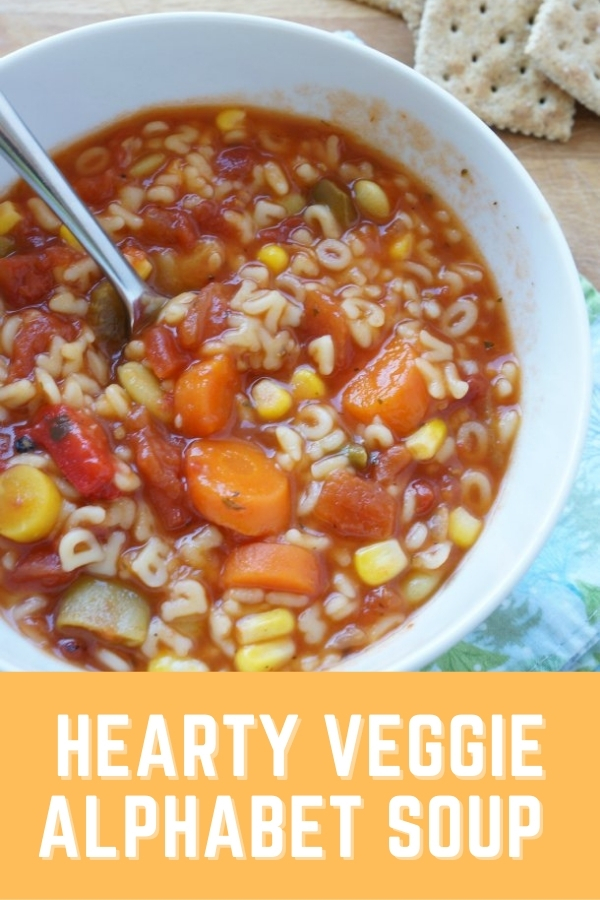 how to make alphabet vegetable soup recipe bowl of soup