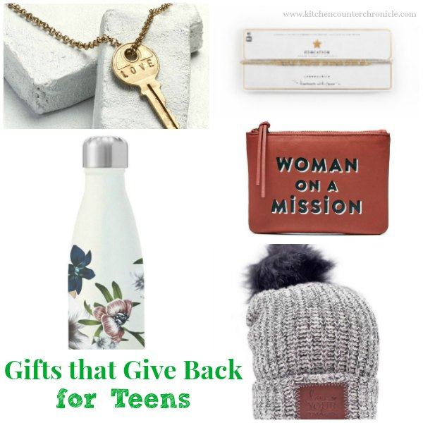 Gifts that Give Back for Teens -