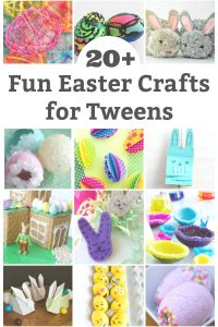 fun easter crafts for tweens to make