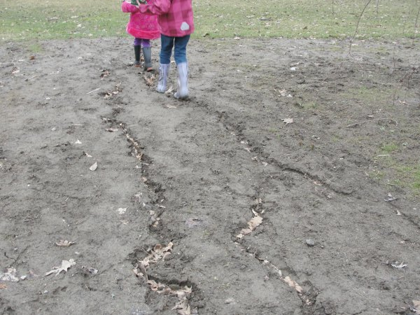 kids in the mud