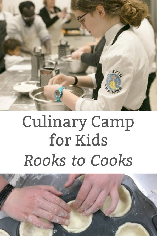 Super Cool Culinary Camp for Kids
