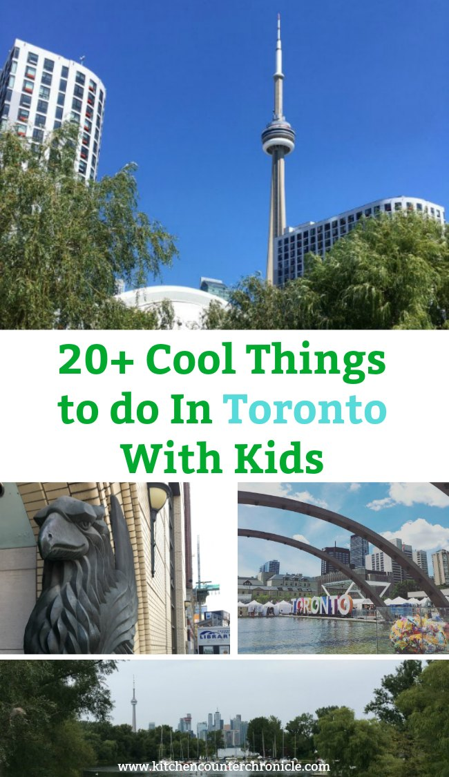 Travelling to Toronto? Check out this collection of 20+ cool things to do with kids in Toronto. Great ideas for kids of all ages...even teens. #travelwithkids #toronto #torontowithkids #traveltoToronto #Torontowithkids #cntower #travelwithtweens #travelwithteens #travel #canada #traveltocanada #thingstodoincanada #summertravel #torontosummer