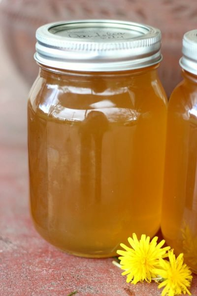 dandelion jelly how to make