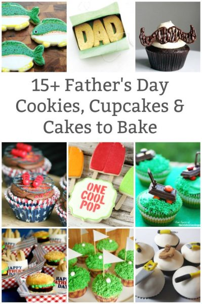 father's day cookies father's day cupcakes