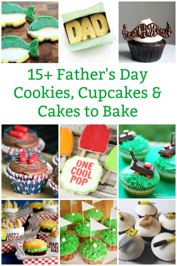 father's day cookies, father's day desserts