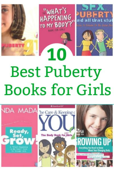 the best puberty books for girls